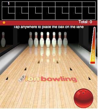 Ionbowlinggame